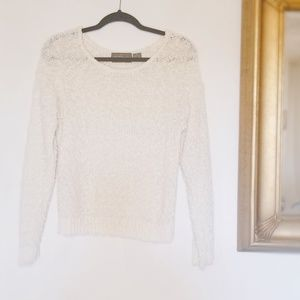 Vintage Korean Popcorn Knit Sweater